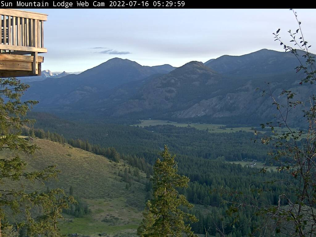 Sun Mountain Lodge | Methow Valley Webcam